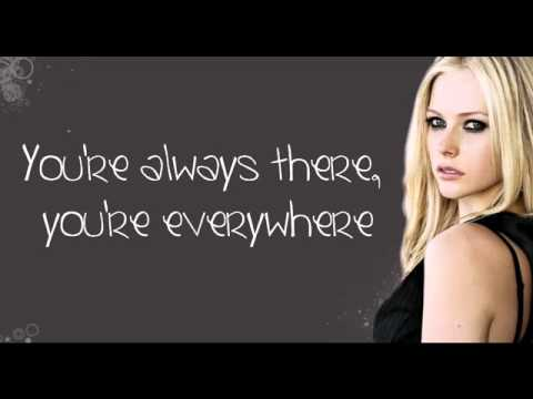 Avril Lavigne   Wish You Were Here Lyrics on Screen NEW FULL SONG