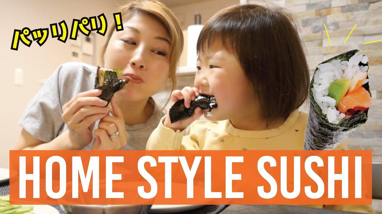 家族でゆるゆる手巻き寿司ディナー🍣〔#941〕