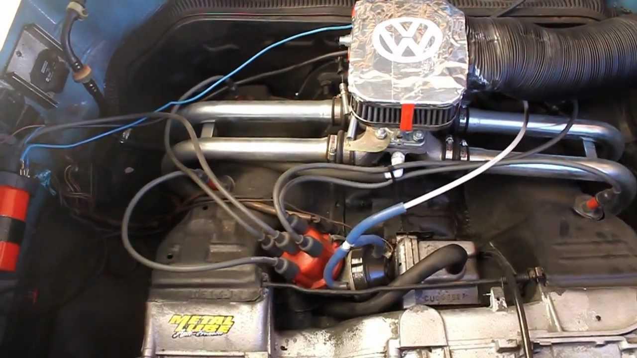 Vw T3 2 0 Cu Aircooled Empi Progressive Carburetor Youtube