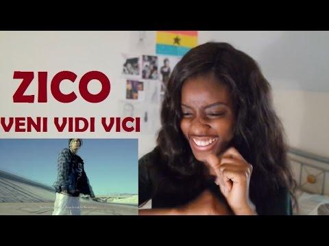 ZICO (지코) - VENI VIDI VICI (Feat. DJ Wegun) MV REACTION