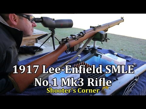 1917 Lee-Enfield SMLE No 1 Mk3* Rifle on the Firing Line