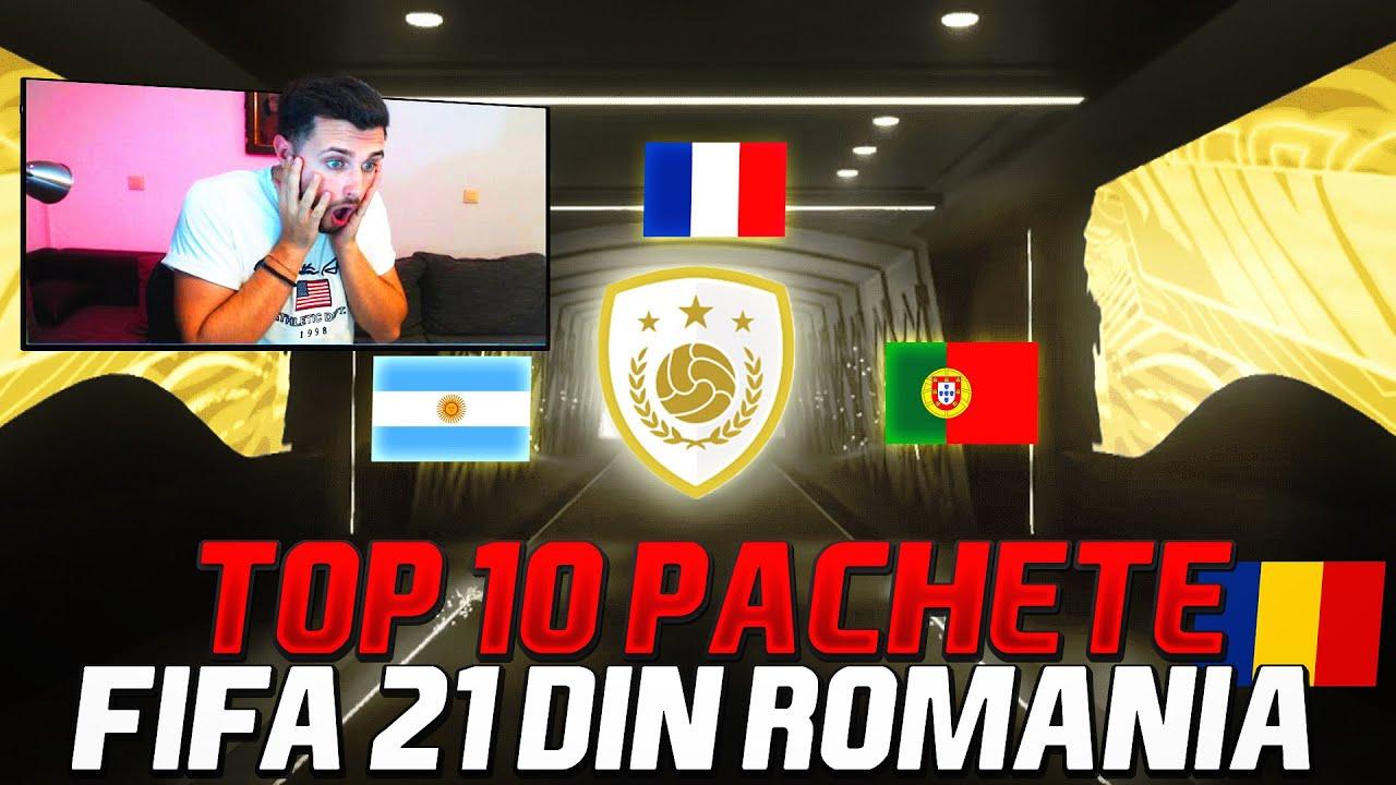 TOP 10 CELE MAI NOROCOASE PACHETE FIFA 21 DIN ROMANIA! NOIEMBRIE!