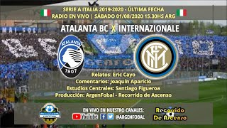 Atalanta x Inter SerieA Italia 2019 2020 Radio En Vivo En Directo