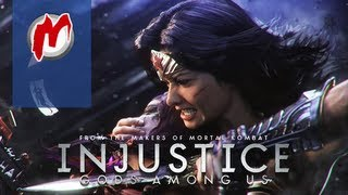 ▶ Injustice: Gods Among Us - Начало игры / First Gameplay