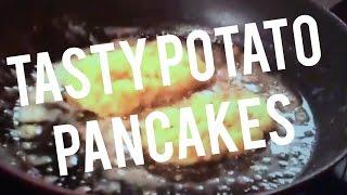 Potato Pancakes Leftover Mashed Potatoes Recipe Green Onions