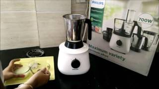 coconut chutney with philips hl1660   philips food processor review   chutney in hl1660