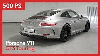 Der porsche 911 gt3 touring ist eines attraktivsten 911er modelle. hat im vergleich zum rs keinen spoiler und somit einen ganz neuen ...