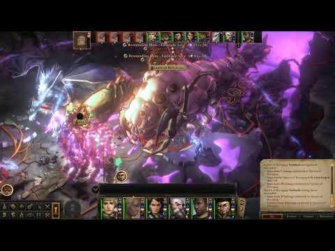 Pathfinder Kingmaker: Spawn of Rovagug + Xelliren in turn-based |