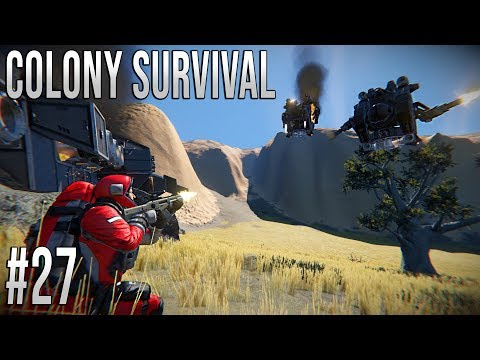 Space Engineers - Colony Survival Ep #27 - Survivor Rescue!