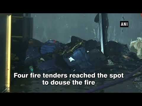 Fire breaks out inside showroom in Mumbai's Colaba