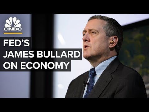 WATCH LIVE: St. Louis Fed President James Bullard on US econ