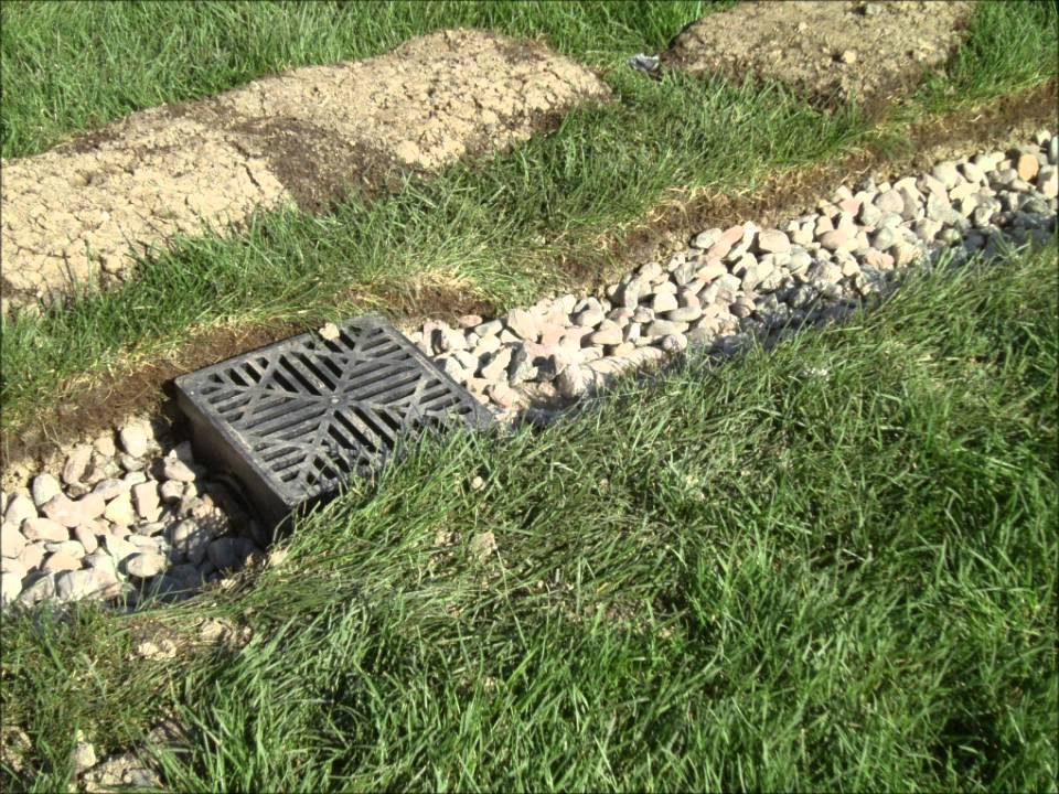 American Landscape Company - Drain Tile Systems - YouTube