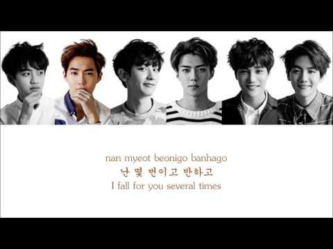 Lyrics EXO-K - DON'T GO (나비소녀) [Hangul/Romanization/English] COLOR CODED