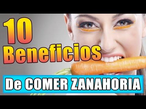 10 Beneficios de comer zanahoria