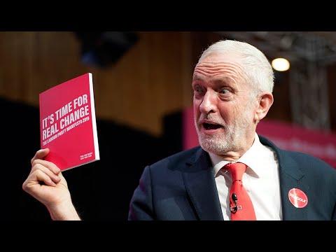 video: Thursday evening news briefing: Jeremy Corbyn reveals Labour manifesto set to raid middle classes