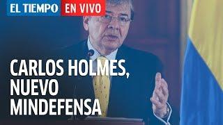 Duque presenta a Carlos Holmes como nuevo ministro de Defensa