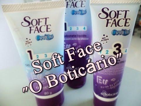 """Resenha: Soft Face """"O Boticário"""""""