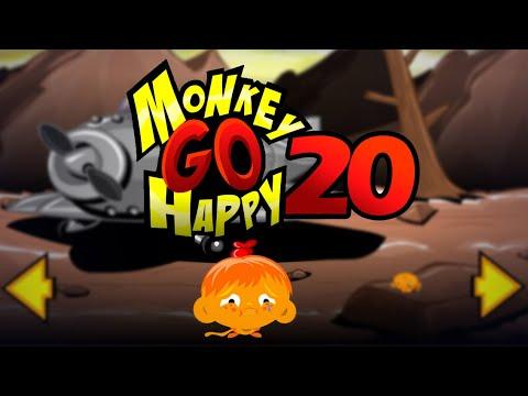 """Игра """"Счастливая Обезьянка 20"""" (Monkey GO Happy 20) - прохождение"""