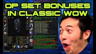 The Most OP Set Bonuses in Classic WoW!