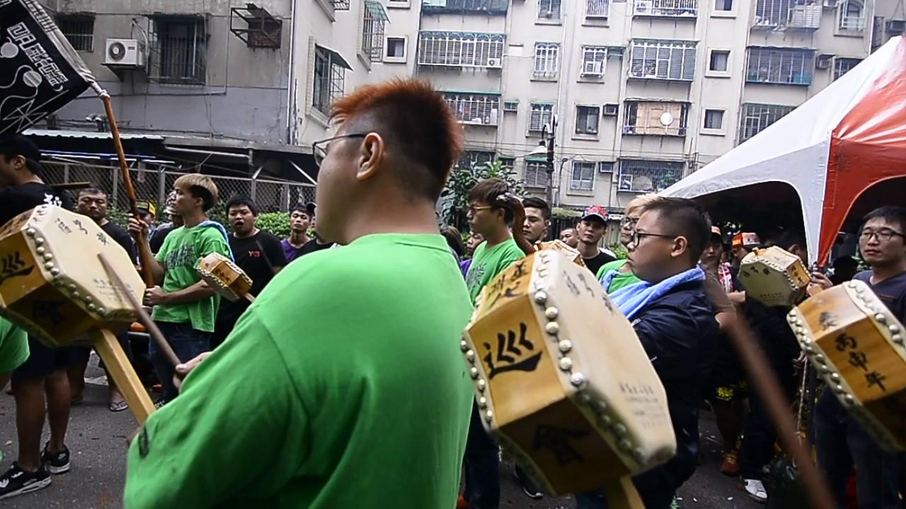 臺中福宣會劉部宣靈公北巡參香聯誼遶境-蘆洲代巡會小法團1 - YouTube