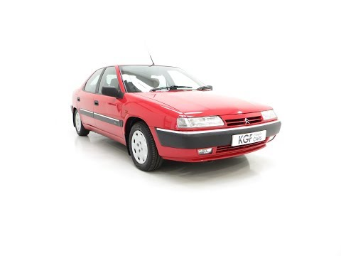 A Rare Phase 1 Citroen Xantia 2.0i SX With One Private Owner And 21,806 Miles - £2,995