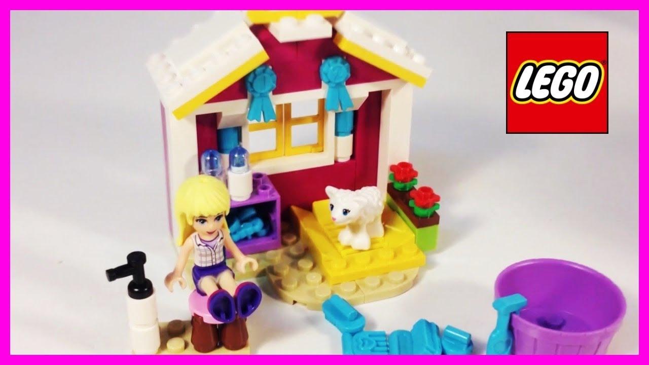 New Lego Friends 41029 Stephanies New Born Lamb Youtube
