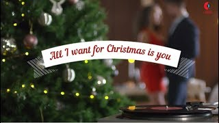 Natali Dizdar - All I Want For Christmas Is You (Lyric)