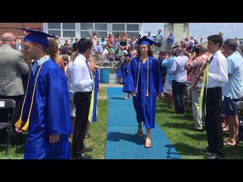 Hull High School graduation