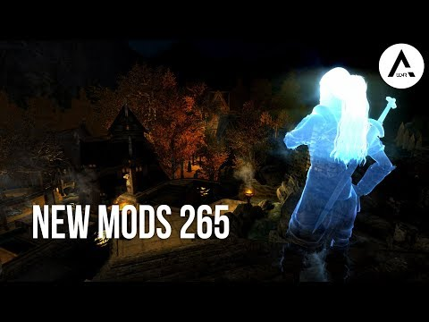 5 Brand New Console Mods 265 - Skyrim Special Edition (PS4/XB1/PC)