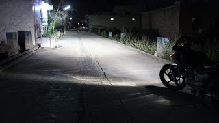 Powerful HID  headlamp in motorcycle