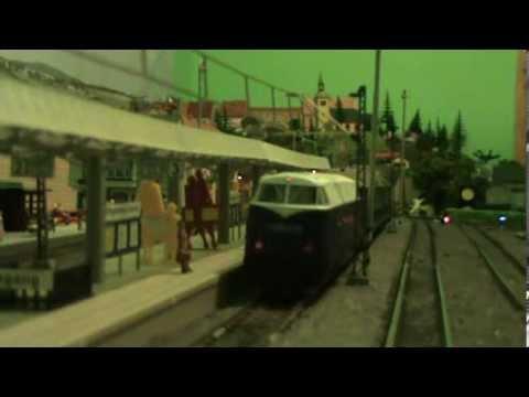 Modelová železnice tt Ruda a Dan