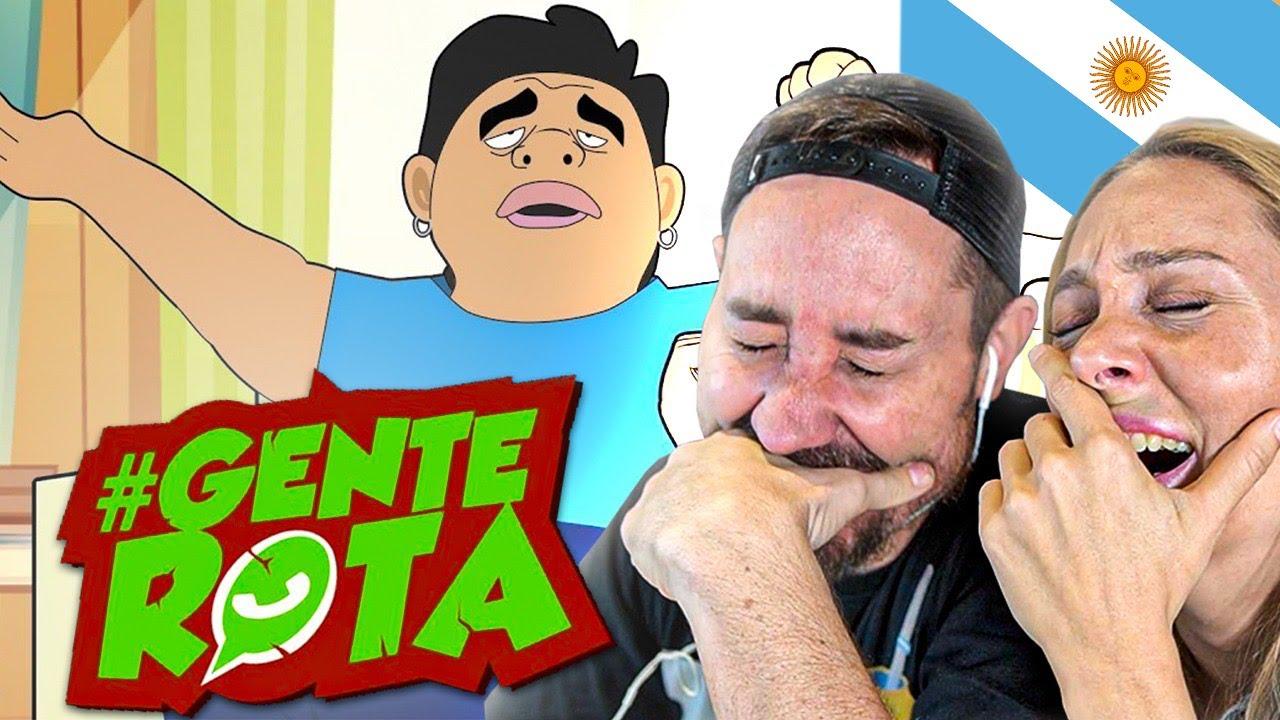 ESPAÑOLES REACCIONAN a GENTE ROTA por 1ª VEZ *LO MEJOR* Ft Gabriel Lucero