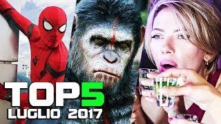 TOP 5 FILM AL CINEMA - LUGLIO 2017