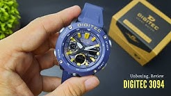 DIGITEC 3094 - Homage Watch - Unboxing and Review