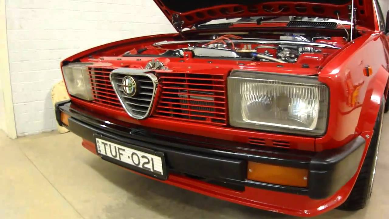 Alfa Romeo Alfetta 1978 2 litre FOR SALE Sydney australia - YouTube