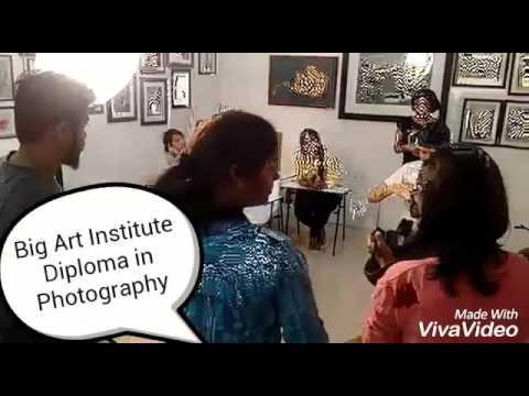 Big art institute of photography, centers in Thane, mumbai and navi mumbai