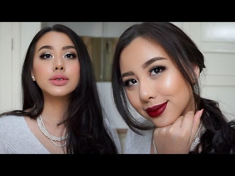 Classic Holiday Glam With 2 Lipstick Options  🎄✨(Bahasa Indonesia)    Ludovica Jessica