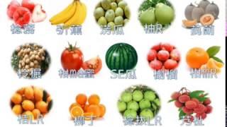 台語發音與用字教學《水果篇》01