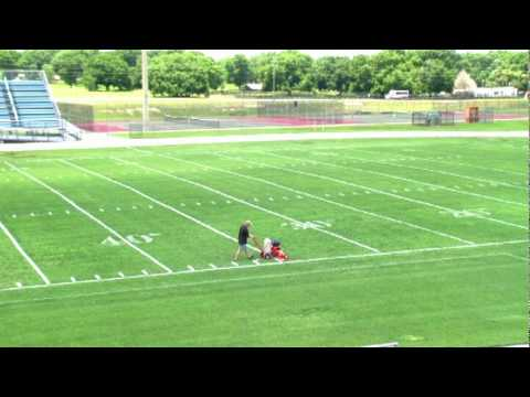new way to do hash marks and border your football field trueline