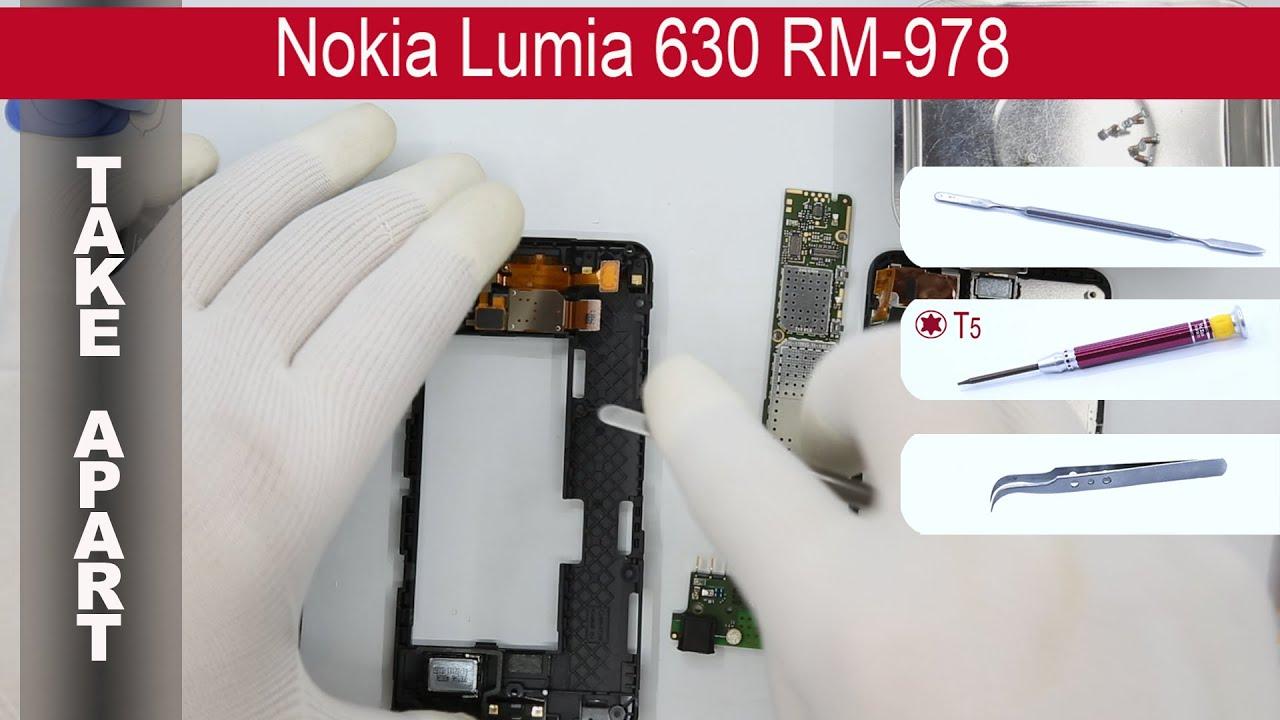 32. Nokia Lumia 620. Как разобрать. Замена тачскрина - YouTube