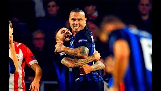 Mauro Icardi And Radja Nainggolan vs PSV(03/10/2018)18-19 HD 720p by轩旗
