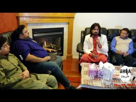 Syed Irfan Haider Interview During His Visit to Calgary - Part 1