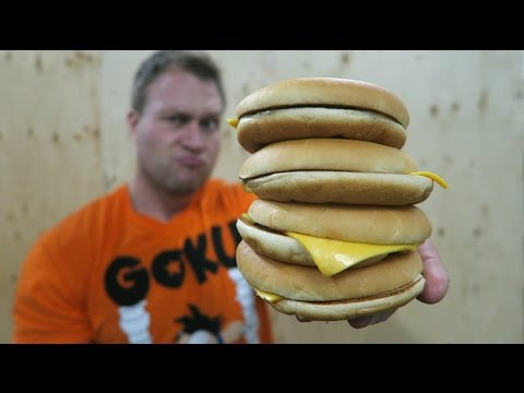 The One Bite Challenge: 4 Burgers