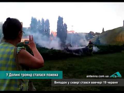Телеканал АНТЕНА: У Долині троянд сталася пожежа