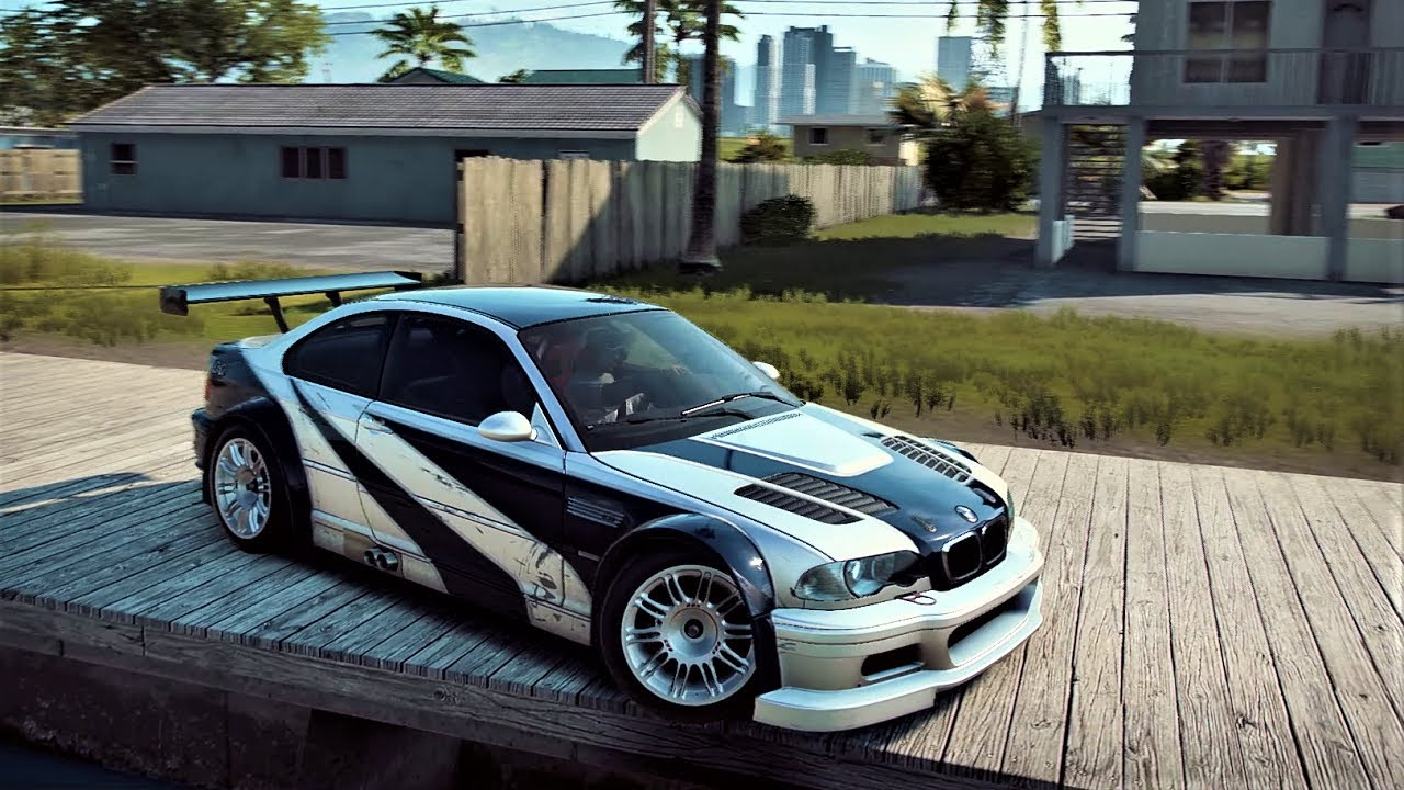 Evolution of The BMW M3 GTR E46 in 20 Different Games