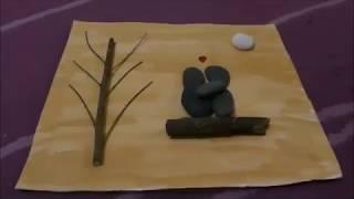 How to make pebble art..