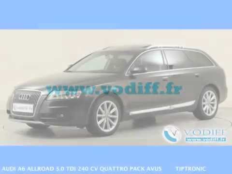 vodiff audi occasion alsace audi a6 allroad 3 0 tdi 240 cv quattro pack avus tiptronic youtube. Black Bedroom Furniture Sets. Home Design Ideas