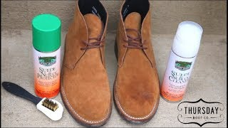 How To Clean Suede Thursday Boots & Nubuck With Moneysworth