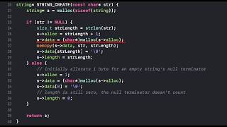 Creating My Own String Library in C