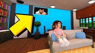 I Moved Into An Apartment.. I Caught The OWNER SPYING On Me! (Roblox Bloxburg)